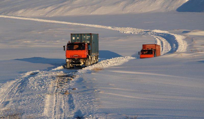 Перевозки по зимнику